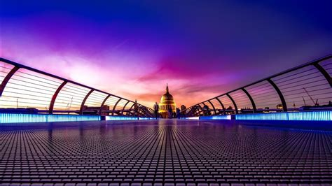 millennium bridge london wallpapers hd wallpapers id