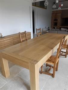 Table Chene Massif : menuiserie vivian cancel tables en ch ne massif ~ Melissatoandfro.com Idées de Décoration