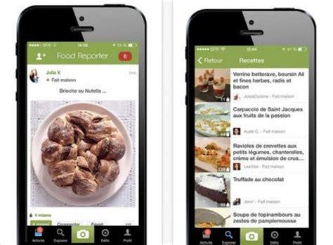 appli cuisine dossier gourmand plus de 18 applis de recettes de