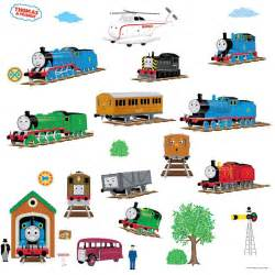 various thomas the train peel stick wall decals sets as