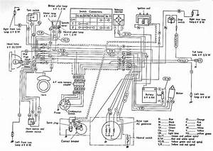 Honda S90 Wiring Diagram  61714