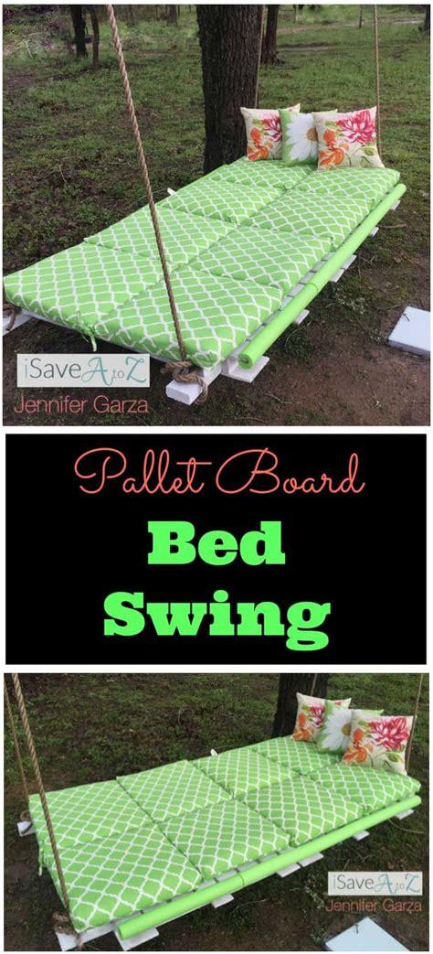 diy pallet board bed swing isaveazcom