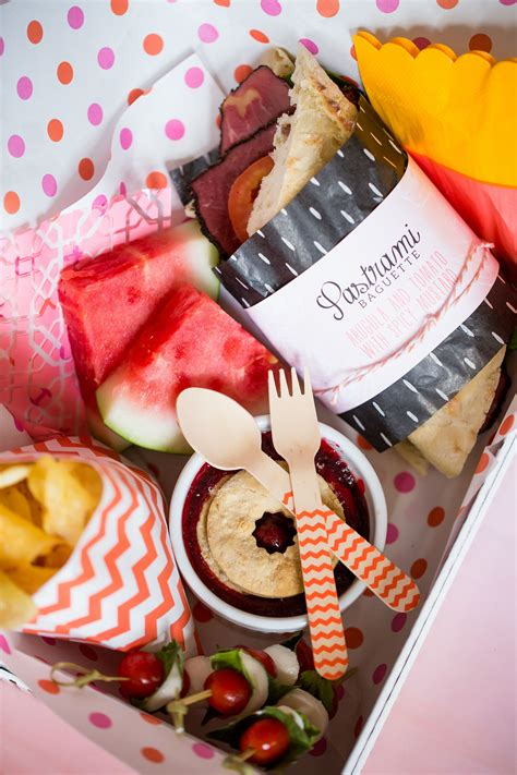 bridal party box lunches catering  bride