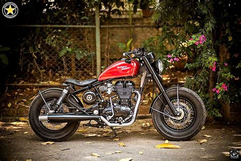 Modification In by Modified Royal Enfield Thunderbird Icarus By Bulleteer Customs