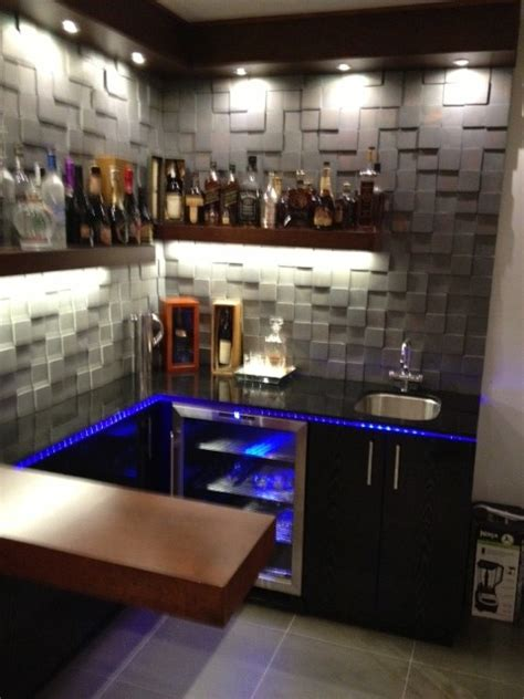 Two Tone Kitchen Cabinet Ideas - cool design for small bar contemporary wine cellar los angeles by bauformat