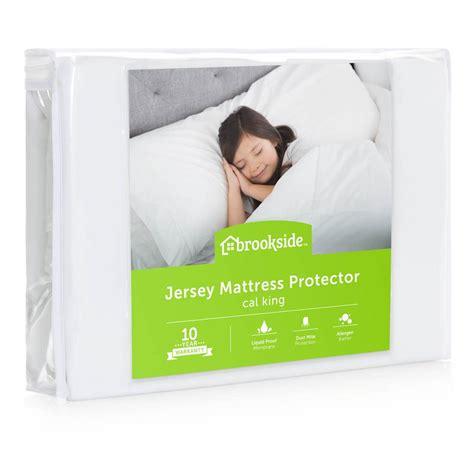 king waterproof mattress protector brookside soft jersey mattress protector waterproof and