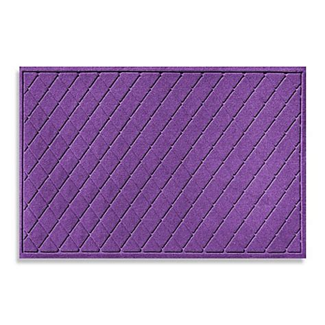 weather guard mats buy weather guard 30 inch x 45 inch argyle door mat in