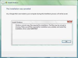 Learn About The Windows Error Code 0x80070017 And The ...