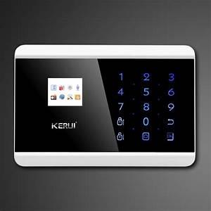 Touch By Touch : kerui touch screen keypad lcd tft display wireless gsm pstn sms smart alarm system ~ Orissabook.com Haus und Dekorationen
