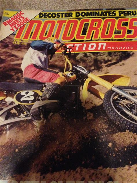 motocross action videos looking to buy dirt bike magazine april 1978 and motocross