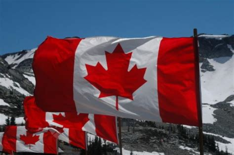 national flag canada day canada