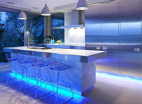 blue led kitchen lights top 3 led lighting ideas for the home going green is in style 4836