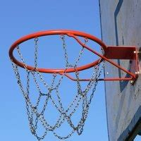 set   basketball goal ehow