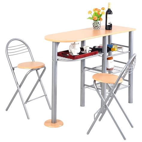 Küchentisch 2 Stühle by Holz K 252 Chenbar Mit 2 St 252 Hle K 252 Chentisch Bistro Tisch