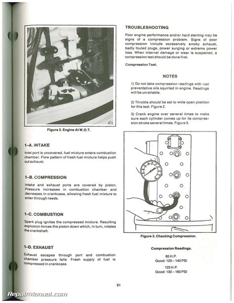 force outboard engine hp hp service manual