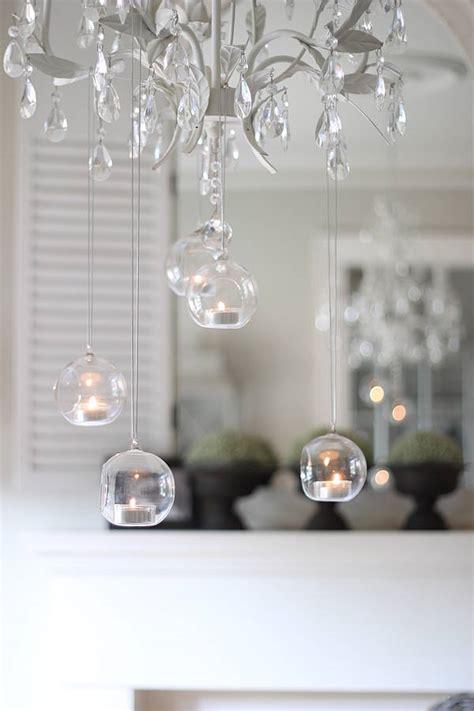 hanging tea light holders hanging bauble tea light holders by
