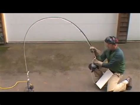 tim rajeff test  strength   fly fishing rod