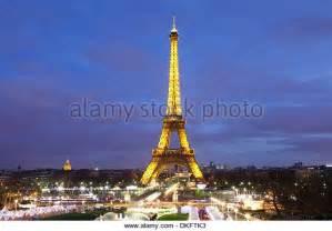 Eiffel Tower Paris France Christmas