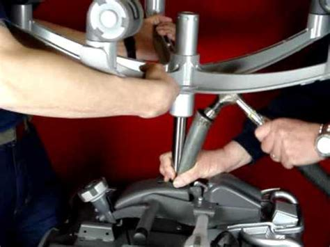 office chair gas cylinder removal part 1