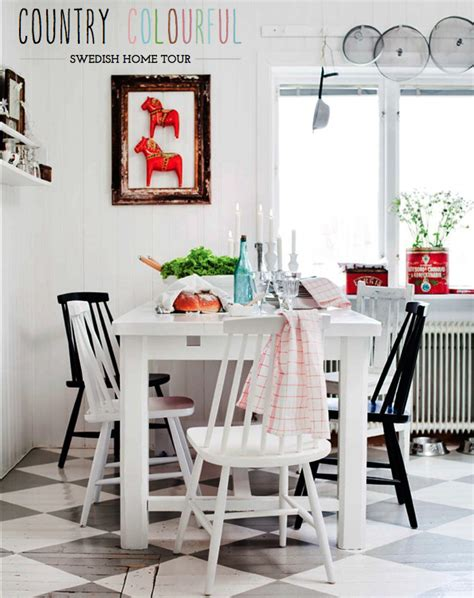 Home Tour Relaxed Swedish Country Style  Bright Bazaar