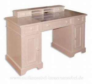 Pc Tisch Holz : schreibtisch mit aufsatz wei landhausstil kaufen bei country bohemia s r o individuelle ~ Markanthonyermac.com Haus und Dekorationen