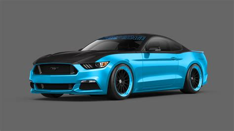 mustang modified pair of modified 2015 ford mustangs revealed ahead of 2014