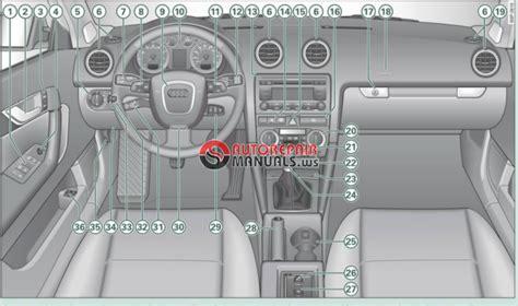 audi  owners manual auto repair