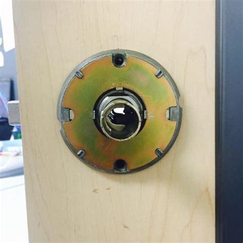 schlage door hardware removal how do i remove a keyless schlage door knob