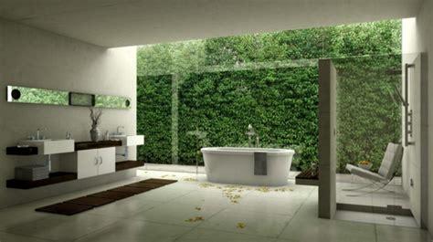 Modernes Badezimmer Ideen  Wie Sie Die Natur Näher