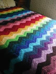 Free Crochet Ripple Afghan Pattern