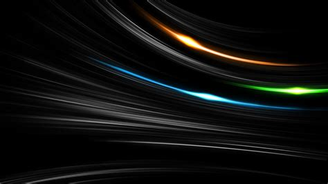 Abstract Orange And Green Wallpaper by Minimalism Black Background Digital Abstract Lines