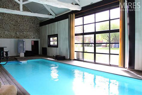 piscine interieure zen  mires paris