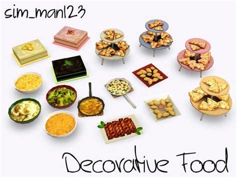cuisine decorative sim man123 39 s decorative food