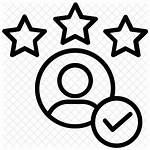 Icon Experience Customer Satisfaction Experiencia Icono Icons