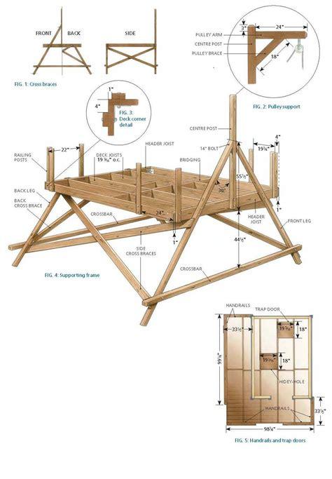 woodwork wood house plans   plans