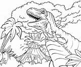 Volcano Coloring Pages Prehistoric Printable sketch template