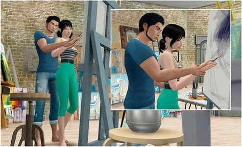 teach    draw poses  rethdis love sims  updates