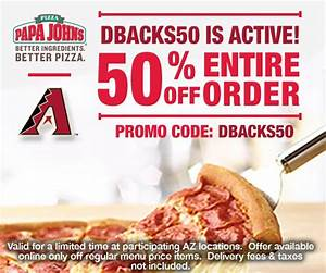 Papa John's: 50% OFF your Entire Order ~ Today ONLY