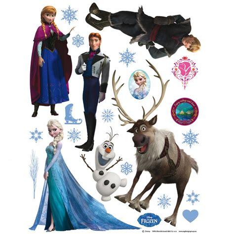 stickers de chambre disney frozen stickers great kidsbedrooms the