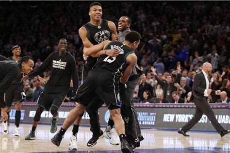 Giannis Antetokounmpo Hits New York Knicks with Dr. J Dunk ...