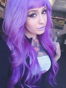 Pastell Lila Haare : purple lilac hair bright dyed coloured purple hair pinterest bunte haare frisuren ~ Frokenaadalensverden.com Haus und Dekorationen