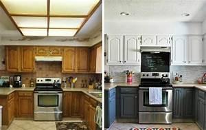 Küchenfronten Streichen Vorher Nachher : k chenfronten austauschen 37 vorher nachher beispiele ~ Watch28wear.com Haus und Dekorationen