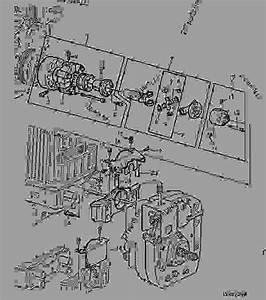 Front Pto-drive Shaft - Tractor John Deere 6400