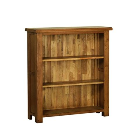 Small Rustic Bookcase by Rustic Oak Small Bookcase Woodys Furniture