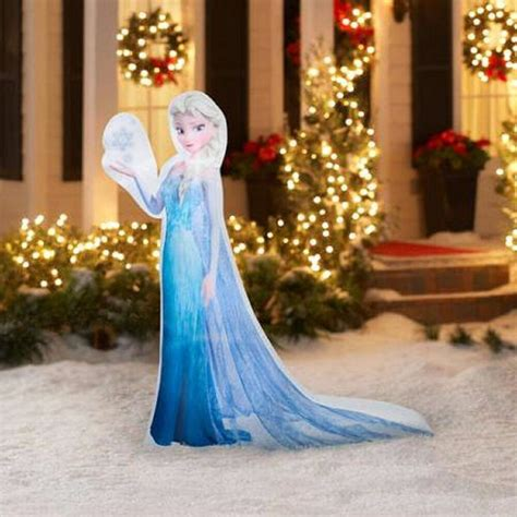disney decorations disney frozen 5 elsa snowflake airblown