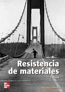Resistencia De Materiales 3ed Autor  Luis Ortiz Berrocal