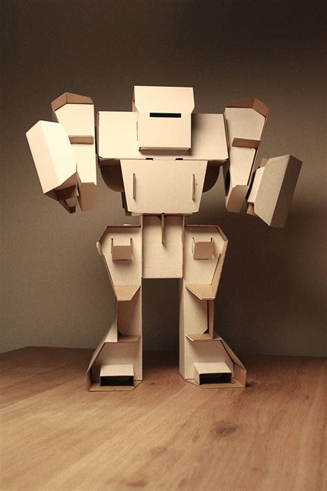 Cardboard Robot  Build Yourself A New Friend  For Love