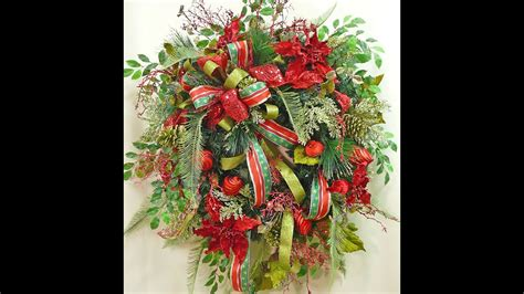christmas wreath  sneak peek nancy alexander