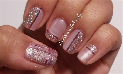 Nail Art With Glitter : 40 Nail Designs With Glitter And Bling