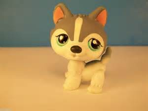 Littlest Pet Shop Husky